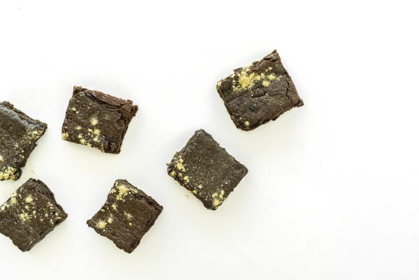 Image of Two-Way Chocolate Lactation Brownies