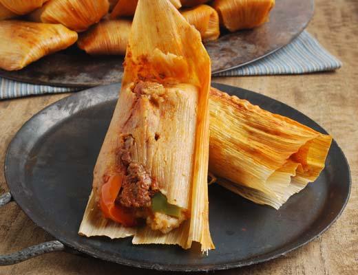 Image of Beef Fajita Tamales