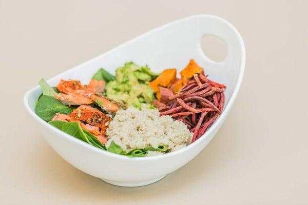 Image of Majka Salmon Salad and Lactation Boosting Dressing