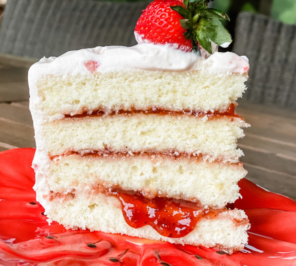 Image of Strawberry Lemonade Cake
