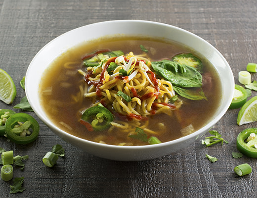 Image of Pho Style Beef and Sausage Noodle Soup