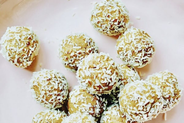 Image of Lactation Boosting Lemon Coconut Truffle Recipe