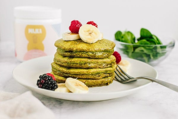 Image of Majka Spinach Blender Pancakes