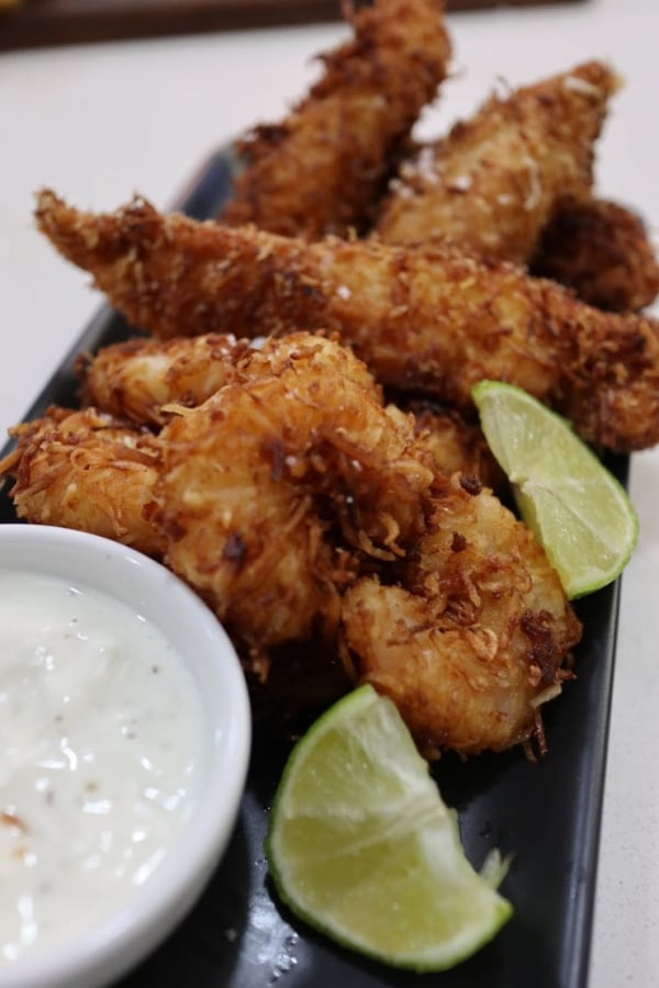 Image of Crispy Coconut Chicken