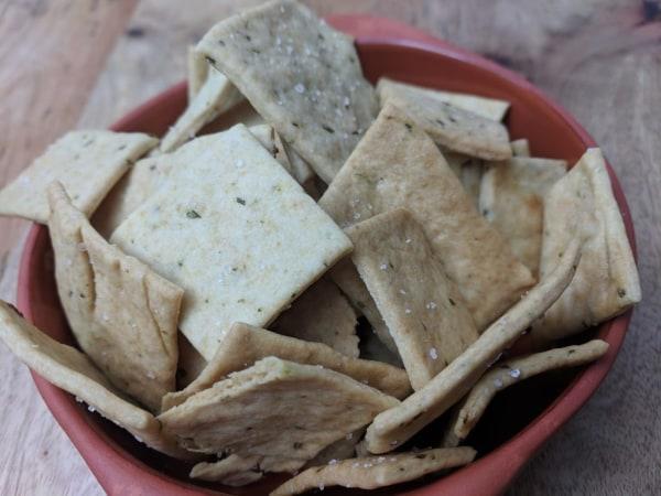 Image of Rosemary Crispbread Crackers