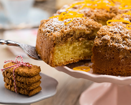 Image of NUTTIKRUST AND MARMALADE CREAM CHEESE CAKE
