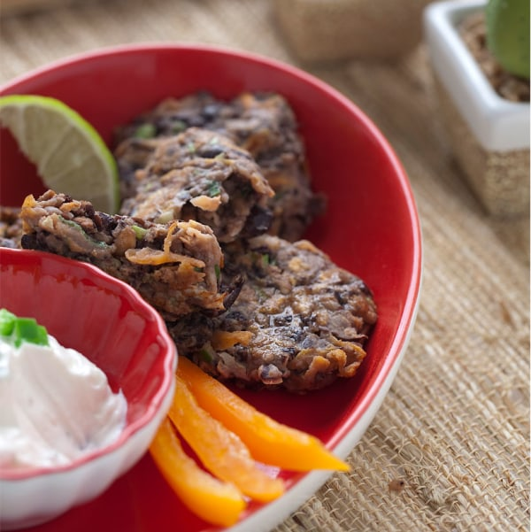 Image of Spicy Black Bean Cakes