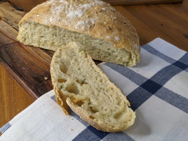 Image of Rosemary No Knead Bread