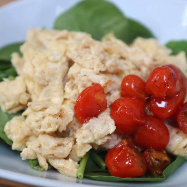 Image of Cheesy Scrambled Eggs