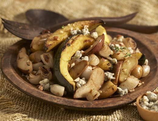 Image ofAcorn Squash, Pears & Russian Banana Fingerling