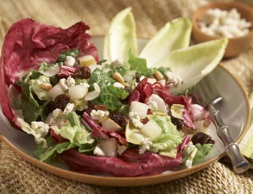 Image ofAll Seasons Spectacular Salad with a Berry & Walnut Oil Vinaigrette