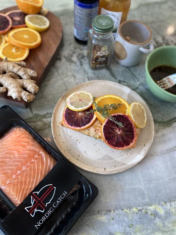 Image ofCitrus & Honey Glazed Salmon