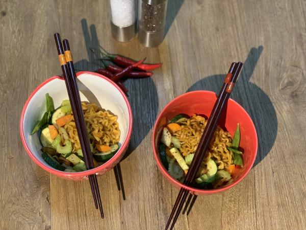 Image ofSweet Hot BamNut Noodles