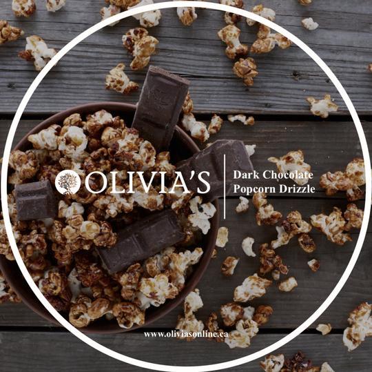 Image of Dark Chocolate Popcorn Drizzle