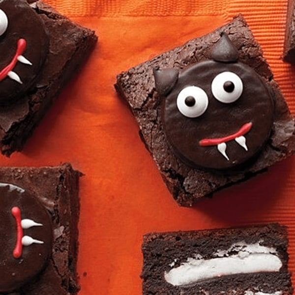 Image of Scaredy-Cat Chocolate Brownies