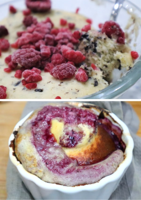 Image of Vanilla Mug Cake