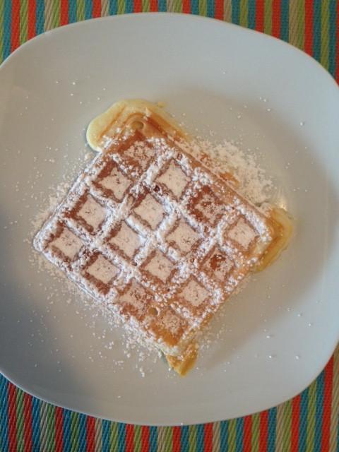 Image of Quick Lemon Grapefruit Waffles