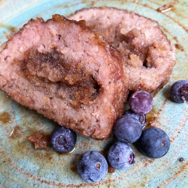 Image of Blueberry Sausage Breakfast Fatty