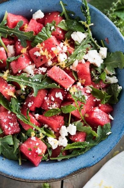 Image of Watermelon Salad