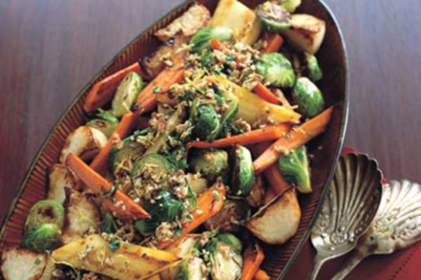 Image of Roasted Vegetables with Gremolata