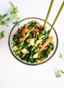 Image of Chopped Kale Salad with Edamame, Carrot and Avocado