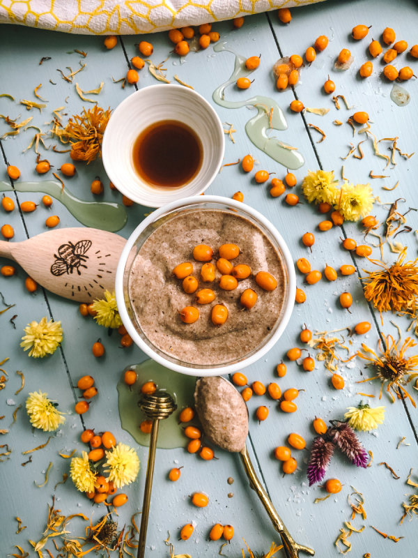 Image of Honey Chia Pudding with Sea Buckthorn