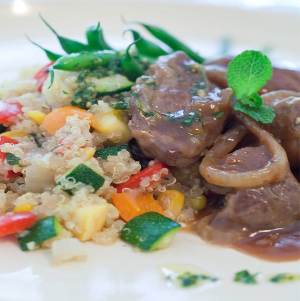 Image of Braised Lamb with Onions
