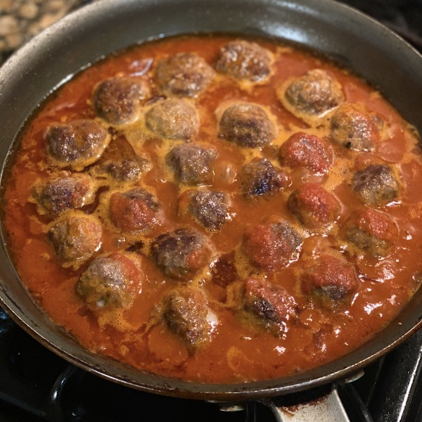 Image of Sofrico Spiced Beef Meatballs & Cinnamon Tomato Sauce