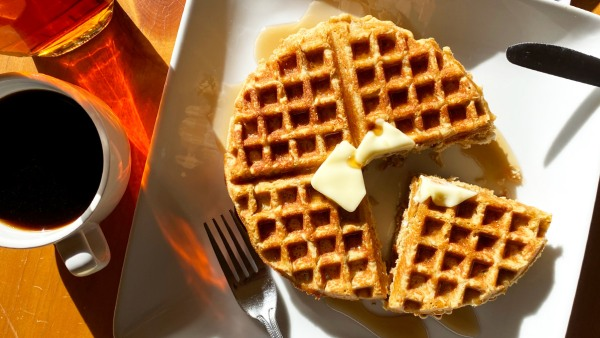 Image of Our FAVORITE Low-Carb/Keto Waffles, Power-Packed with Lupin Flour
