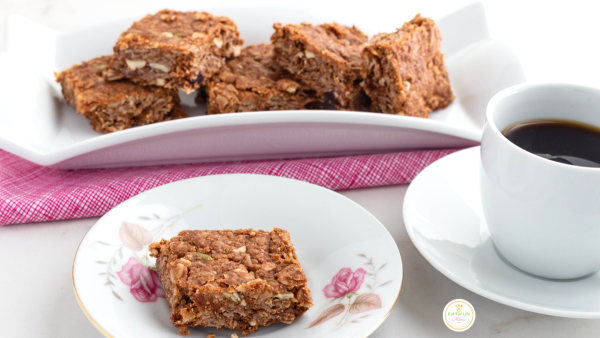 Image of Pumpkin Seed Cranberry Mix Oat Squares (Vegan)
