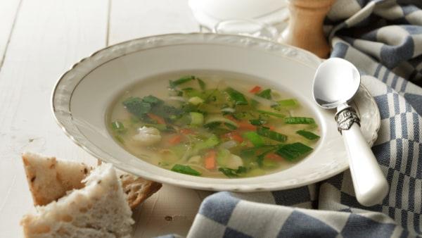Image of Vegan Bokchoy Soup