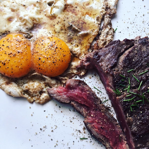 Image of Cancale & Pierre Steak & Eggs
