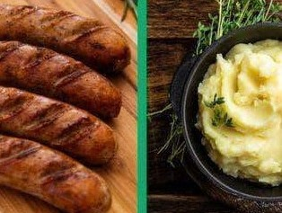 Image of Irish Bangers and Mash