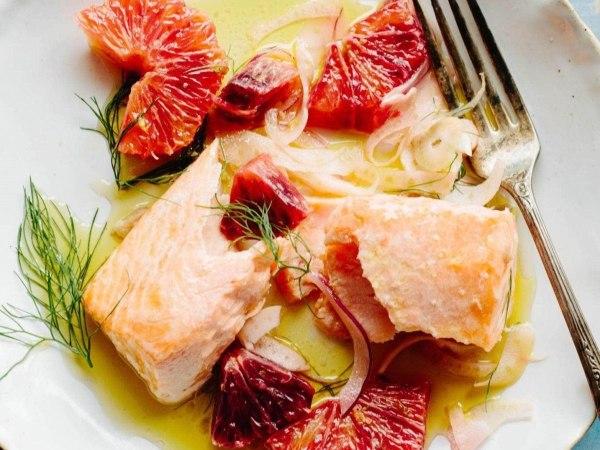 Image of Slow Roasted Salmon with Orange & Fennel