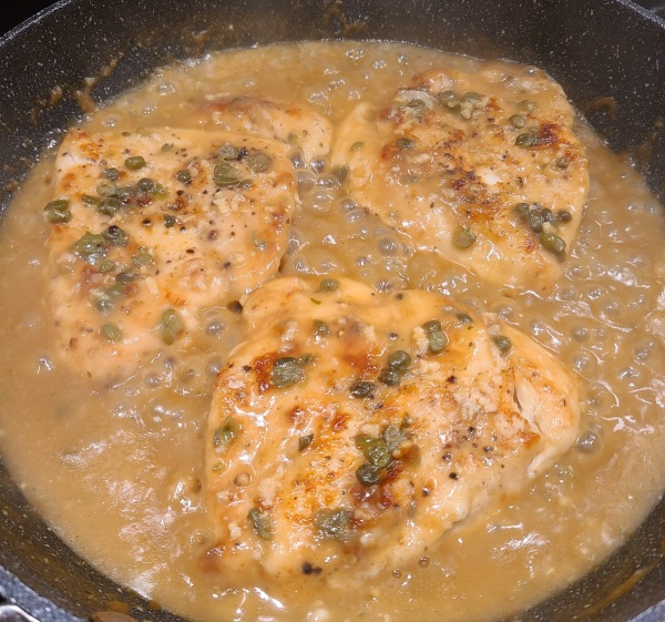 Image of Chicken Piccata with Lemon Oil
