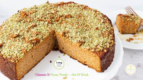 Image of Almond Pumpkin Spice Cake