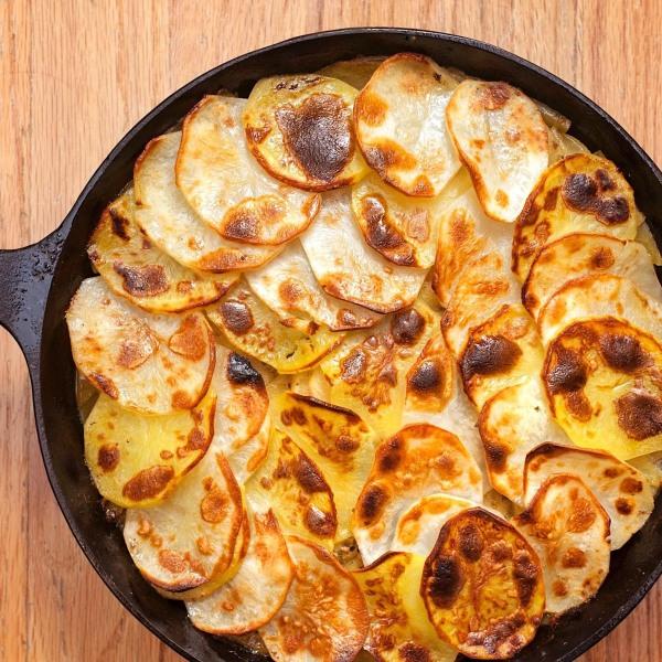Image of Potato and Apple Gratin