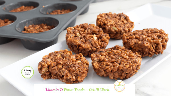 Image of Brown Rice Crisp And Trail Mix Treats (Vegan)