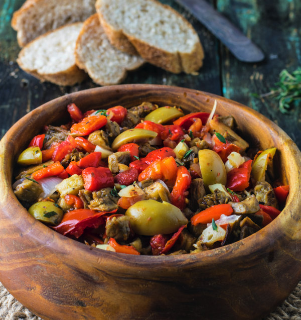 Image of Tunisian Grilled salad (Mechouia salad)