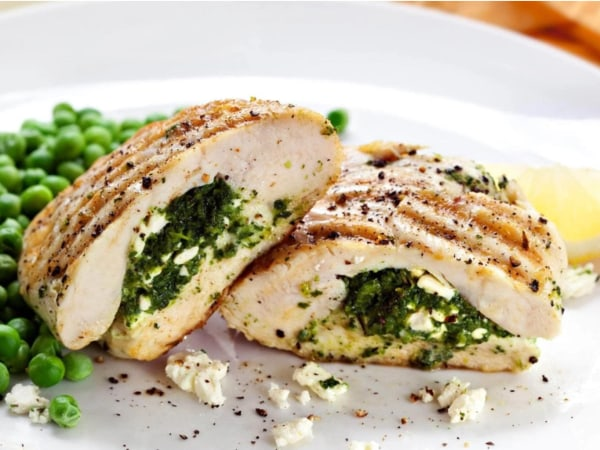 Image ofSpinach Stuffed Chicken Breast