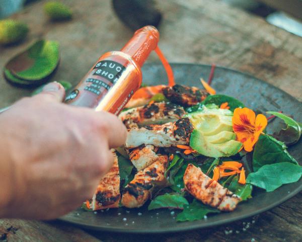 Image of Grilled Halloumi Salad