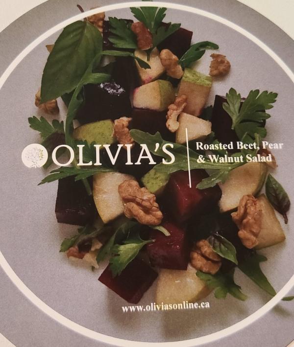 Image of Roasted Beet, Pear and Walnut Salad
