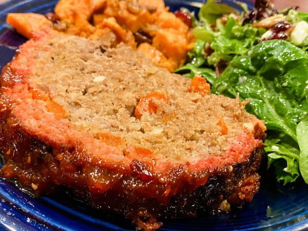 Image of Meatloaf With Raspberry Chipotle Glaze