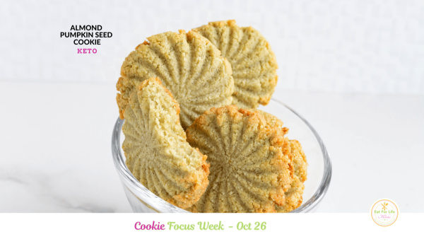Image of Almond Pumpkin Seed Cookie (Keto)