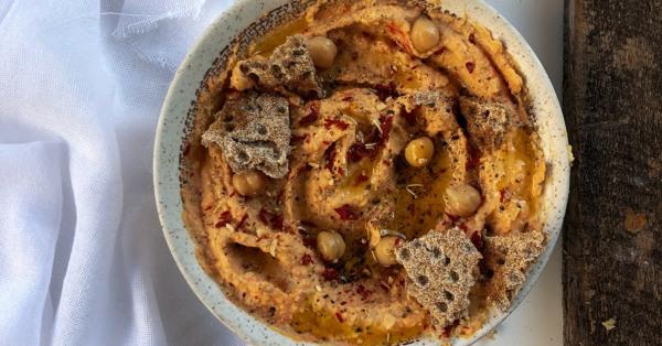 Image of Hummus cu ardei copt