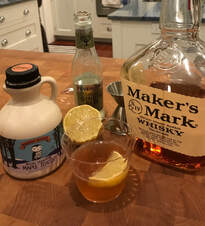 Image of Emily's Maple Bourbon Cocktail