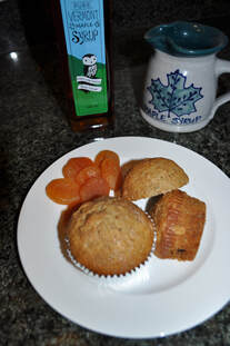 Image of Banana Maple Syrup Muffins
