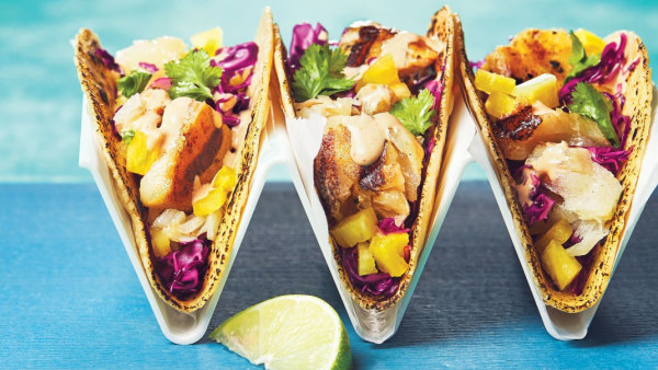 Image ofGrilled Haddock Tacos with Chipotle Mayo