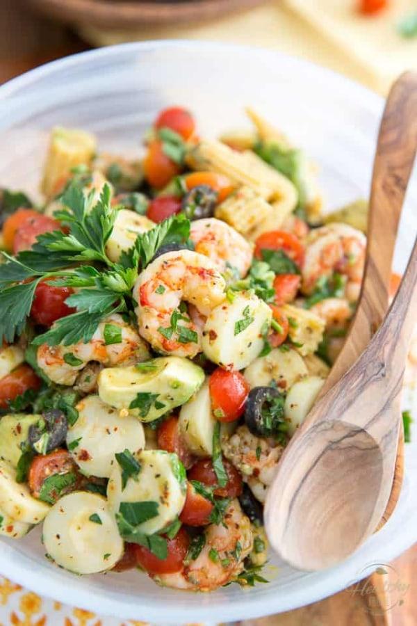 Image ofSimple Cold Shrimp Salad