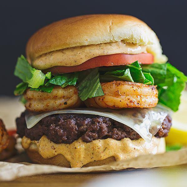 Image of Cajun Shrimp Burger